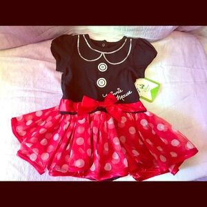 NWT Baby Minnie Mouse Dress 12 mths